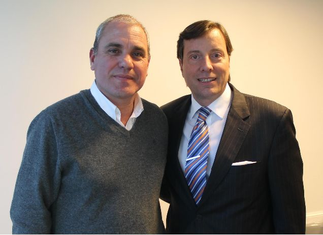 Jorge Carbonell y Fernando Hofmann
