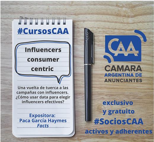 #CursosCAAinfluencers